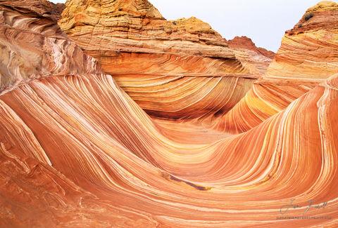eternal wave, paria canyon, vermillion cliffs wilderness, arizona, utah, border, sandstone rock, erosion, wind, water, timeless