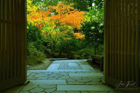 sanctuary, sacred place, portland japanese garden, oregon