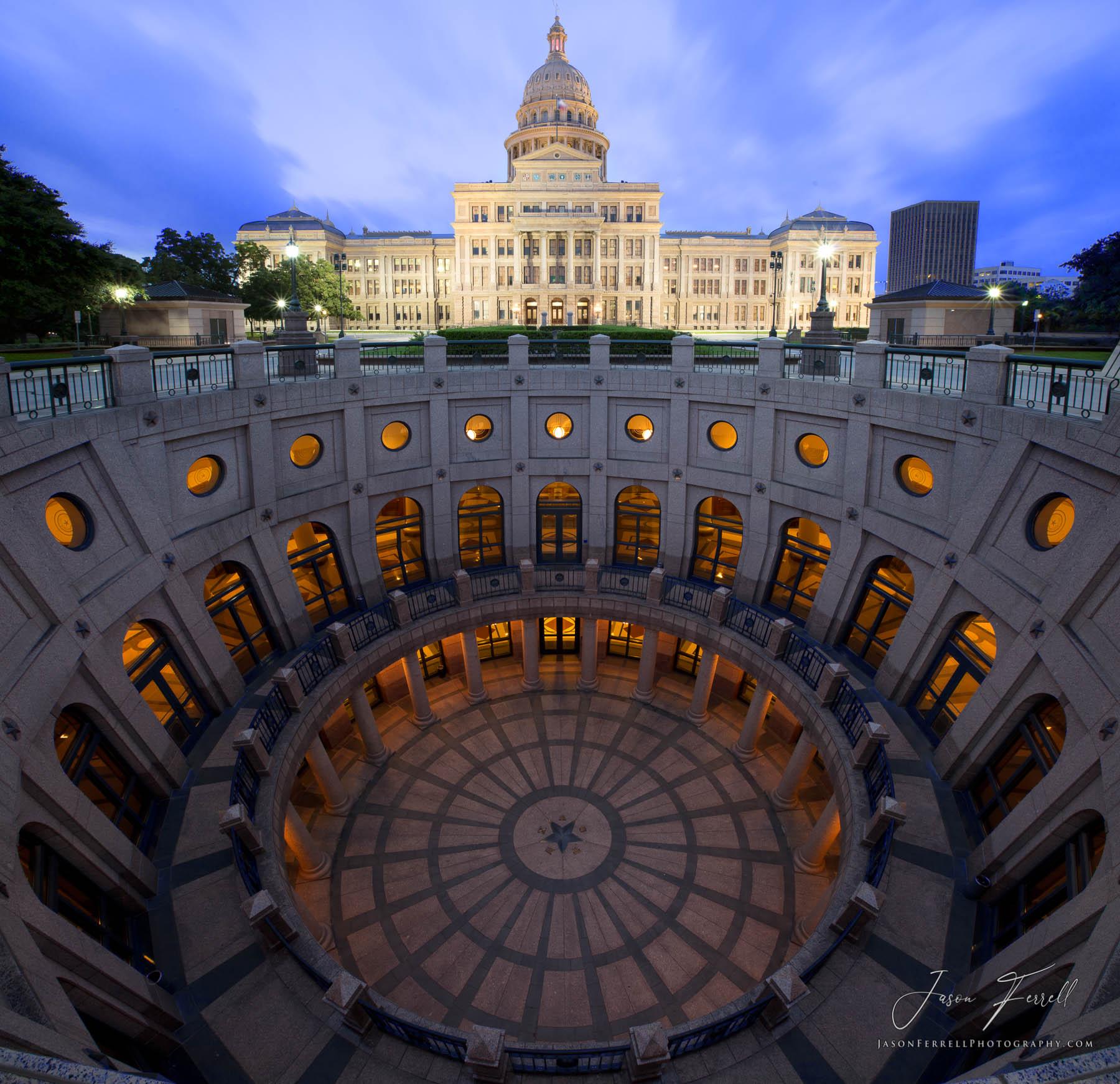 texas state capitol, building, downtown austin, govenor, legislature, dome, landscape, rotunda, historic, round, rome, pantheon, photo